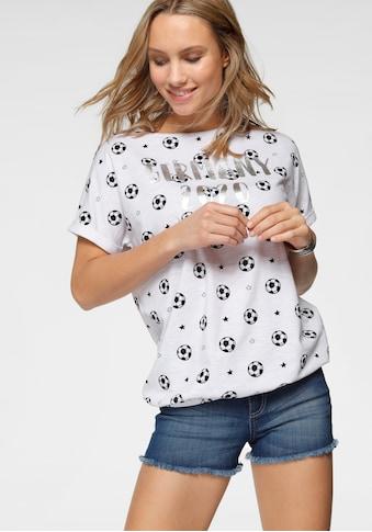 STOOKER WOMEN Print-Shirt, mit Alloverprint, Fan-Shirt EM 2021 kaufen