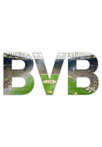 Wall-Art Dekoobjekt »BVB«, 44/18 cm mit 3D-Effekt kaufen