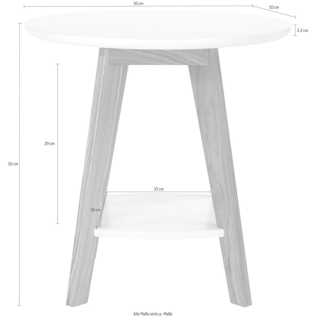 Woodman Beistelltisch »Bjórgvin«, Breite 50 cm