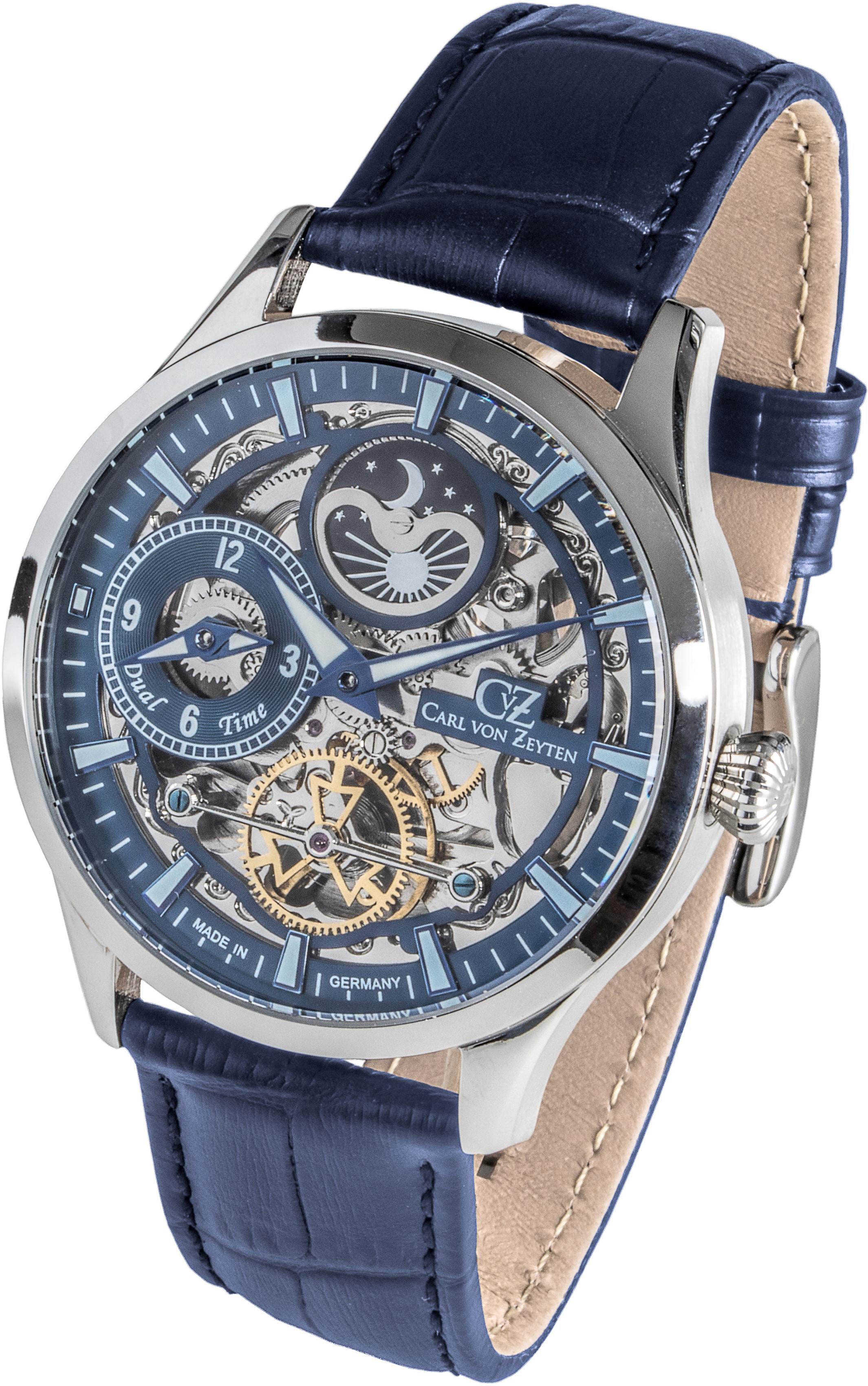 Carl von Zeyten Automatikuhr Freiburg CVZ0063BL | Uhren > Automatikuhren | Carl Von Zeyten