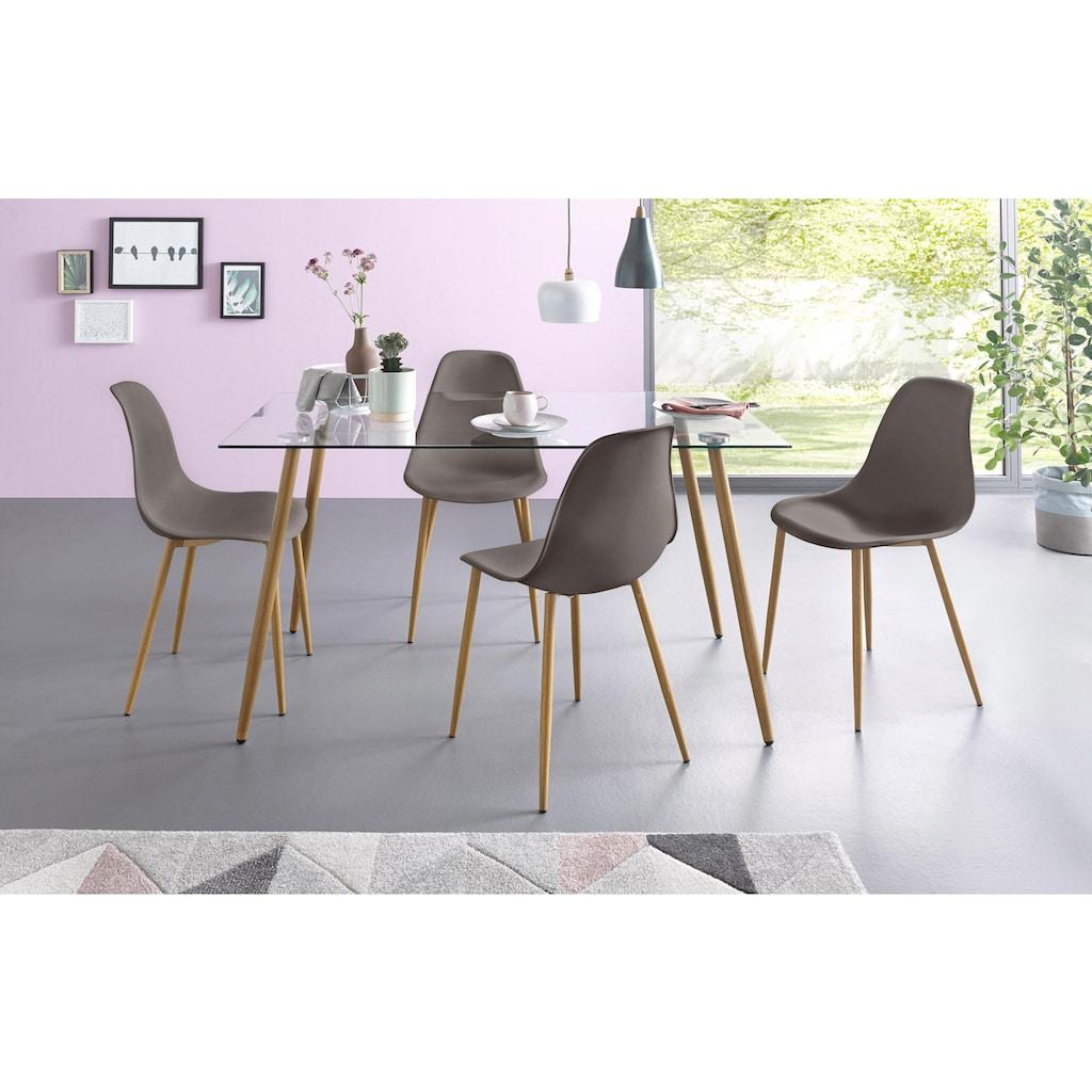 my home Schalenstuhl »Miller«, (2 Stück oder 4 Stück) Sitzschale in Kunststoff