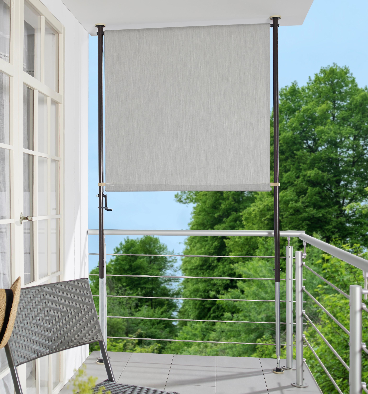 Angerer Freizeitmobel Balkonsichtschutz Granitgrau Bxh 120x225 Cm Online Kaufen Baur