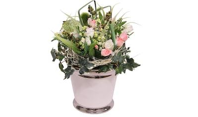 I.GE.A. Kunstpflanze »Mini Röschen« kaufen