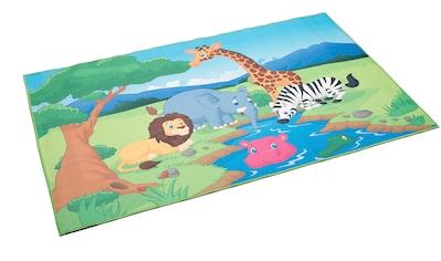 Böing Carpet Kinderteppich »Wasserstelle«, rechteckig, 4 mm Höhe, bedruckt, Motiv... kaufen