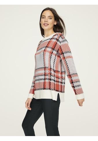 Pullover mit Karomuster kaufen