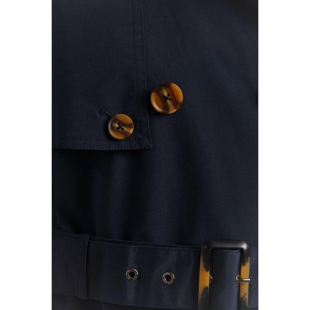 Finn Flare Trenchcoat, mit integriertem Gürtel