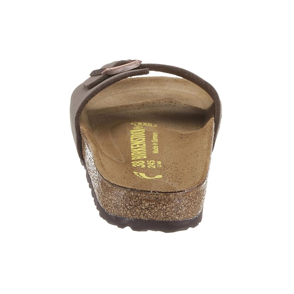Birkenstock Pantolette »Madrid«, in schmaler Schuhweite, mit verstellbarer Schnalle