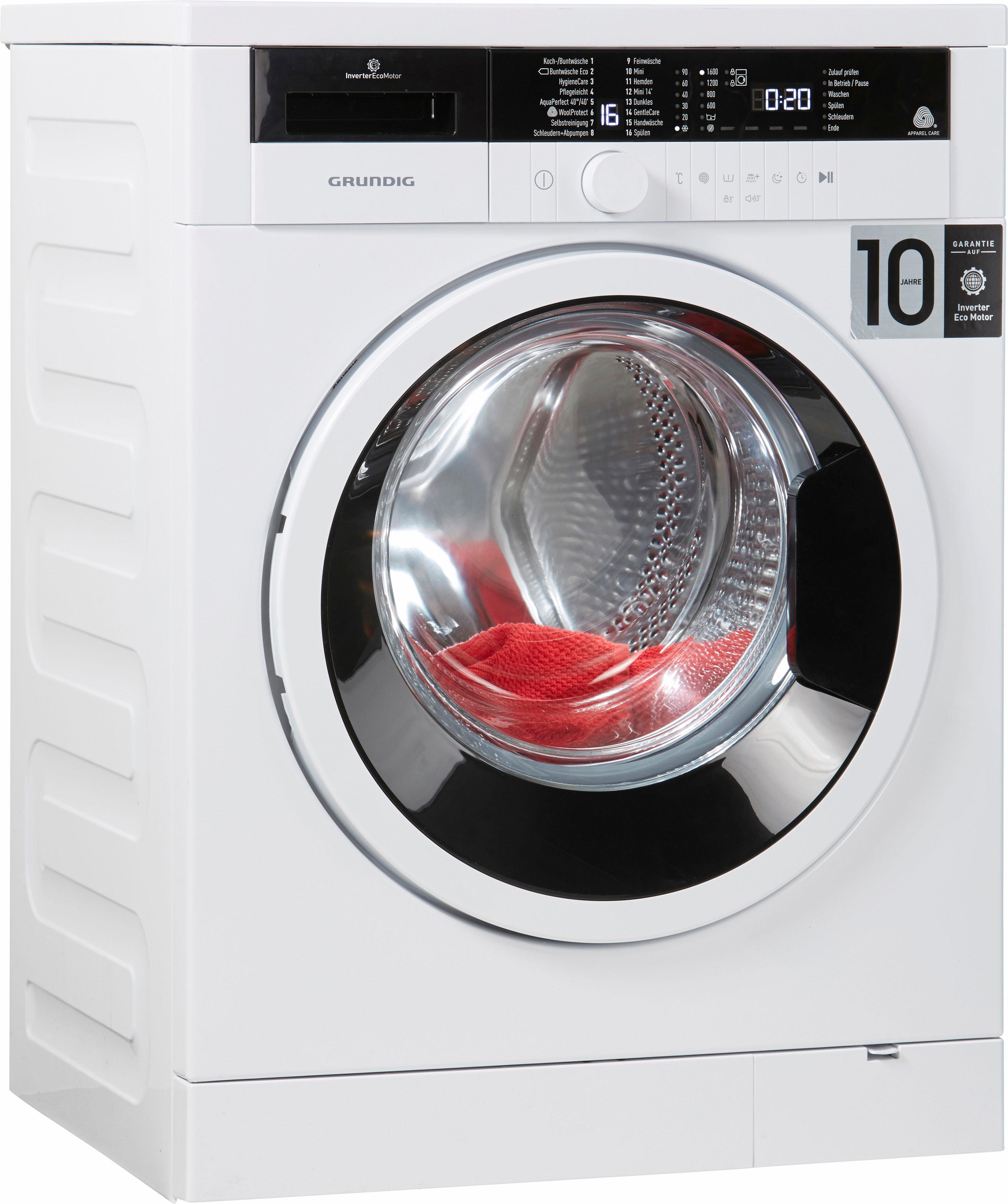 grundig waschmaschine gwo 37630 wb auf rechnung baur. Black Bedroom Furniture Sets. Home Design Ideas