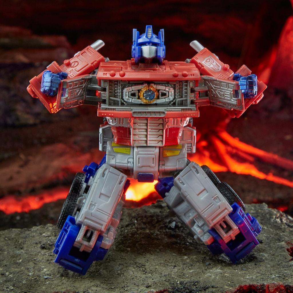 Hasbro Actionfigur »Transformers Generations War for Cybertron: Kingdom Leader WFC-K11 Optimus Prime«