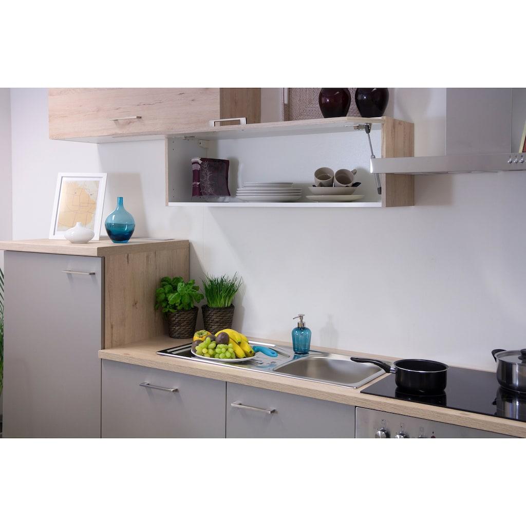 Flex-Well Küchenzeile »Riva«, mit E-Geräten, Gesamtbreite 280 cm