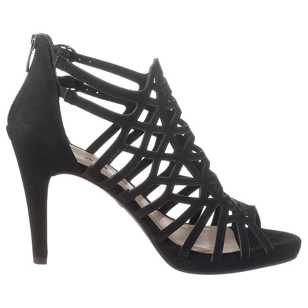Tamaris High-Heel-Sandalette »MYGGIA«, im femininen Look