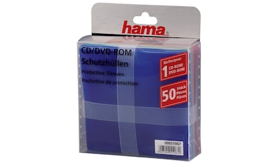 Hama CD - /DVD - Schutzhüllen 50, Farbig kaufen