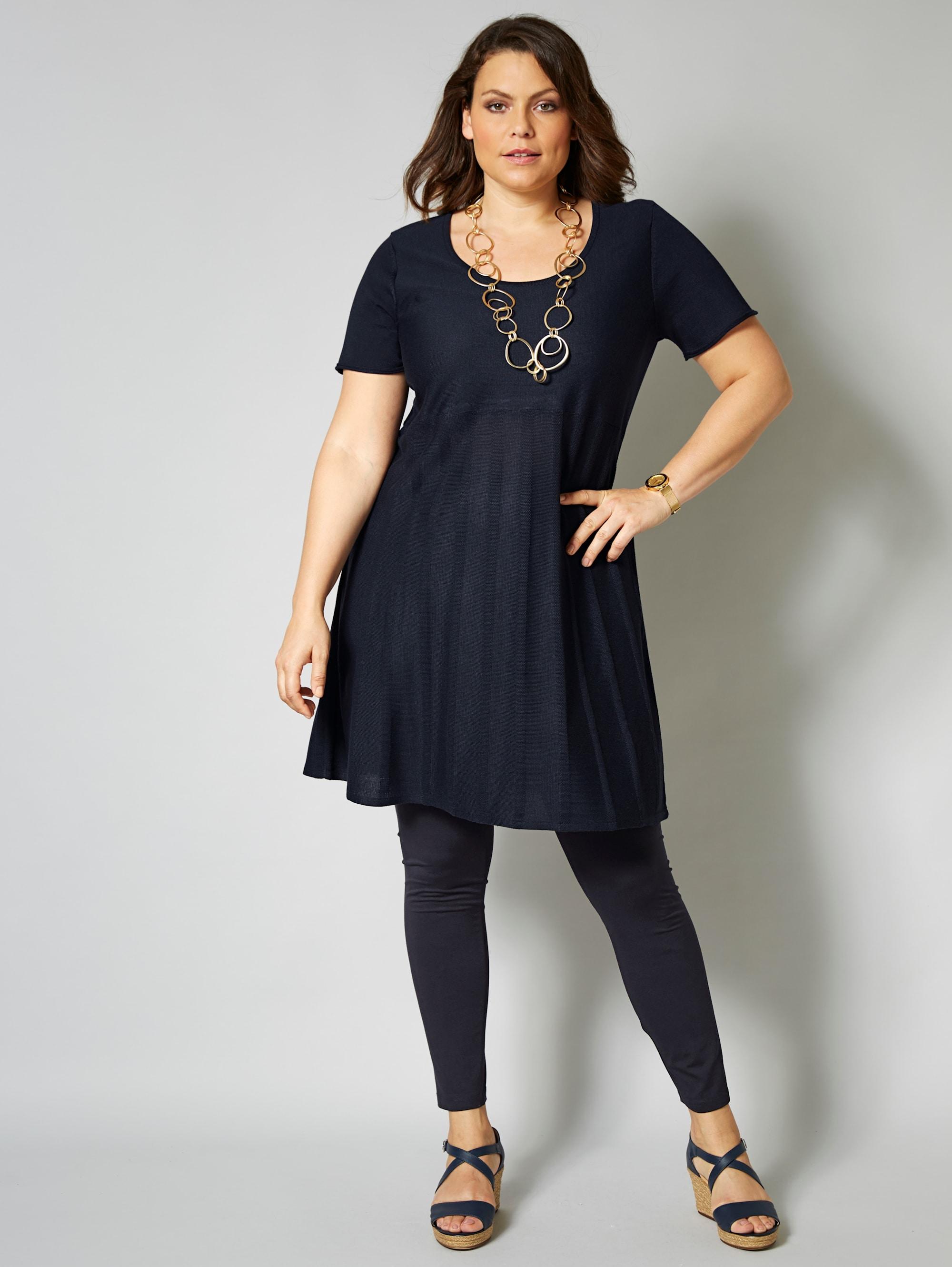 Sara Lindholm by Happy Size Strickkleid mit Ajourmuster für  BAUR