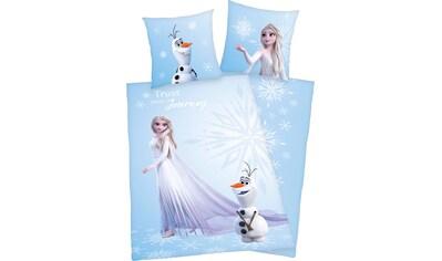 Disney Wendebettwäsche »Die Eiskönigin 2«, mit farbenfrohem Motiv kaufen