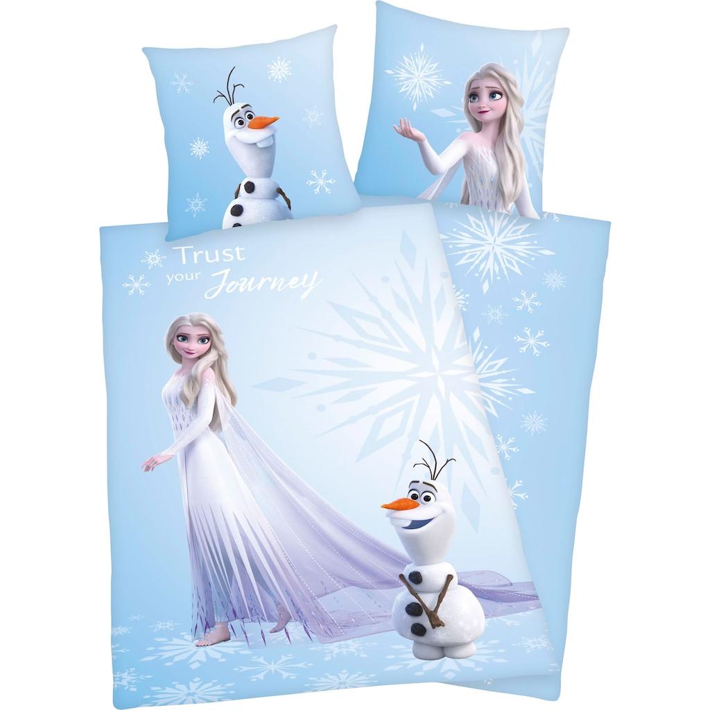 Disney Wendebettwäsche »Die Eiskönigin 2«, mit farbenfrohem Motiv
