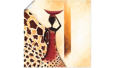 Artland Wandbild »Afrikanische Frau II« kaufen