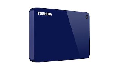 Toshiba »Canvio Advance 4TB Blue« externe HDD - Festplatte 2,5 '' kaufen