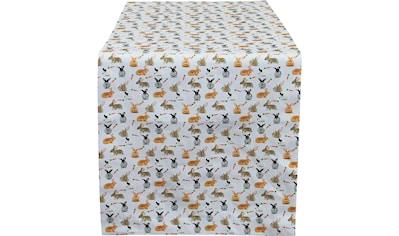 Tischläufer, »32657 Rabbits«, HOSSNER  -  HOMECOLLECTION (1 - tlg.) kaufen