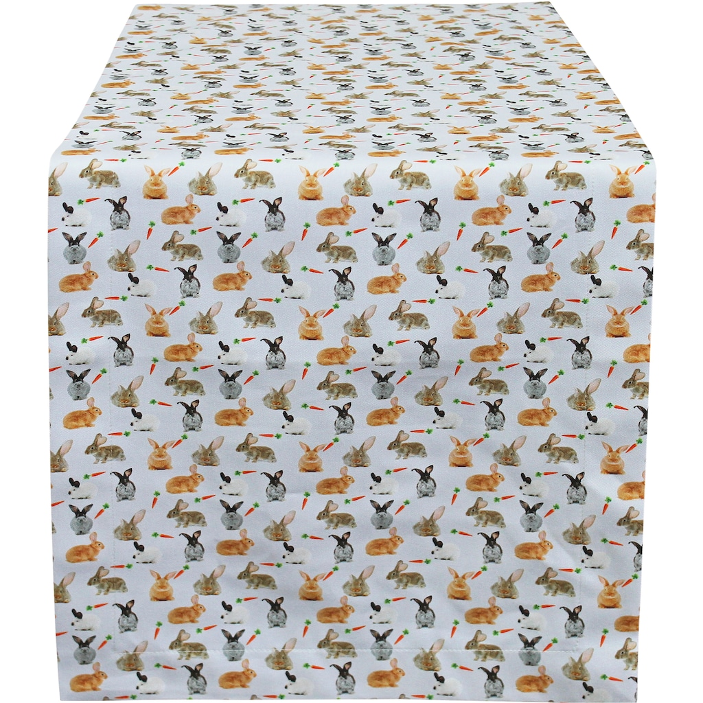 HOSSNER - HOMECOLLECTION Tischläufer »32657 Rabbits«