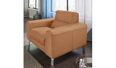 CALIA ITALIA Sessel »Simon«, in zwei Lederqualitäten kaufen