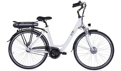LLobe E - Bike »Metropolitan JOY weiß 8Ah«, 3 Gang Nabenschaltung, Frontmotor 250 W kaufen