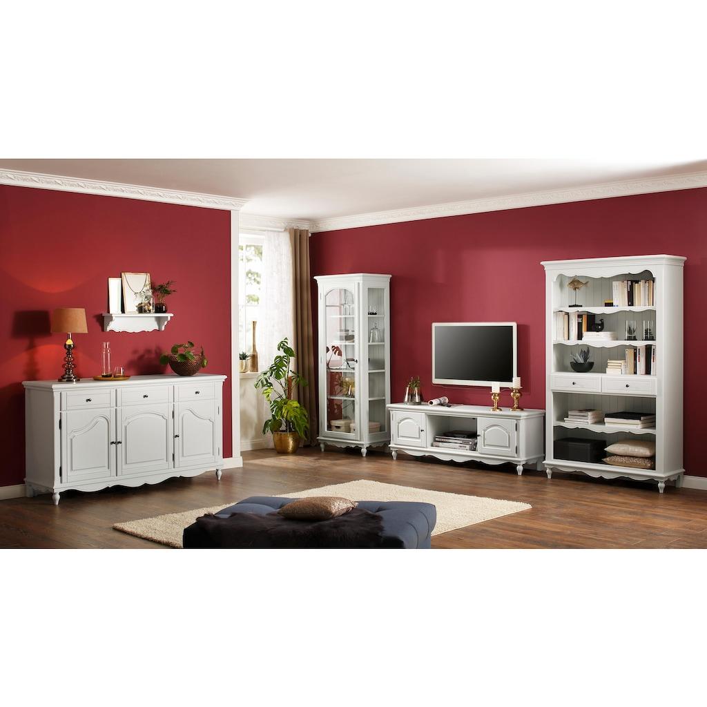 Premium collection by Home affaire Sideboard »Katarina«, mit geschwungenen Fräsungen auf den Holztüren, Breite 163 cm