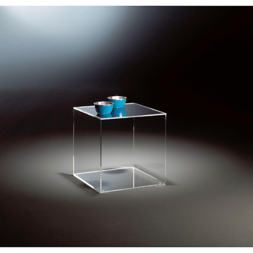 Places of Style Beistelltisch »Würfel«, aus Acrylglas