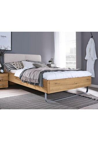 rauch ORANGE Bett »Colombo«, mit Polsterkopfteil und Metallkufe kaufen