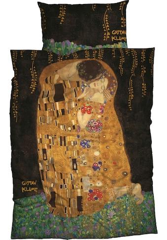 Goebel Bettwäsche »Kuss«, mit Klimt Gemälde kaufen