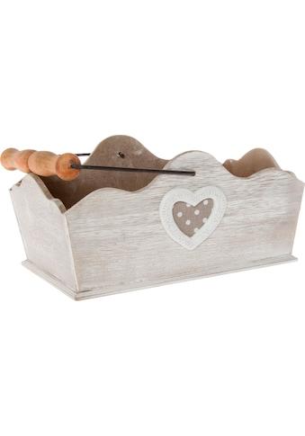 Myflair Möbel & Accessoires Dekokorb »Holm«, Holz kaufen