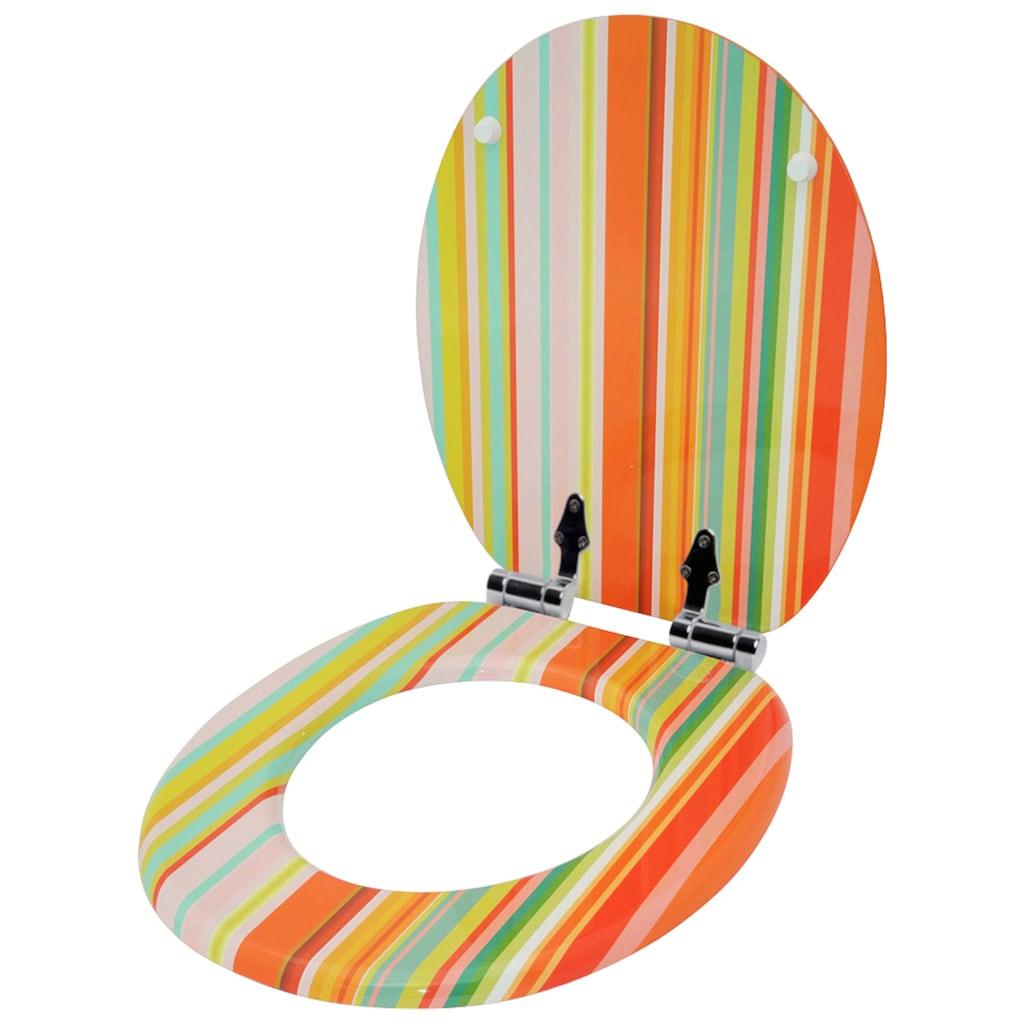 Sanilo WC-Sitz »Starstripes«, mit Absenkautomatik