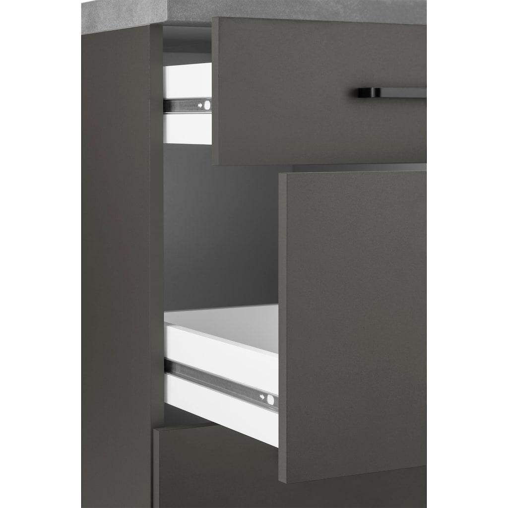 wiho Küchen Unterschrank »Esbo«, 50 cm breit, mit 2 großen Auszügen