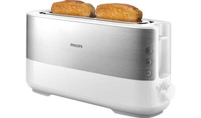 Philips Toaster »HD2692/00«, 1 langer Schlitz, für 2 Scheiben, 950 W kaufen