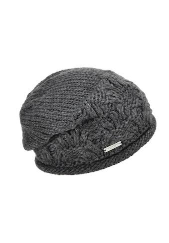Seeberger Strickmütze »lässige Mütze mit Rollkante 18355-0« kaufen