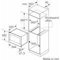 NEFF Einbau-Mikrowelle »N 70 C17WR00N0«, Mikrowelle, 900 W