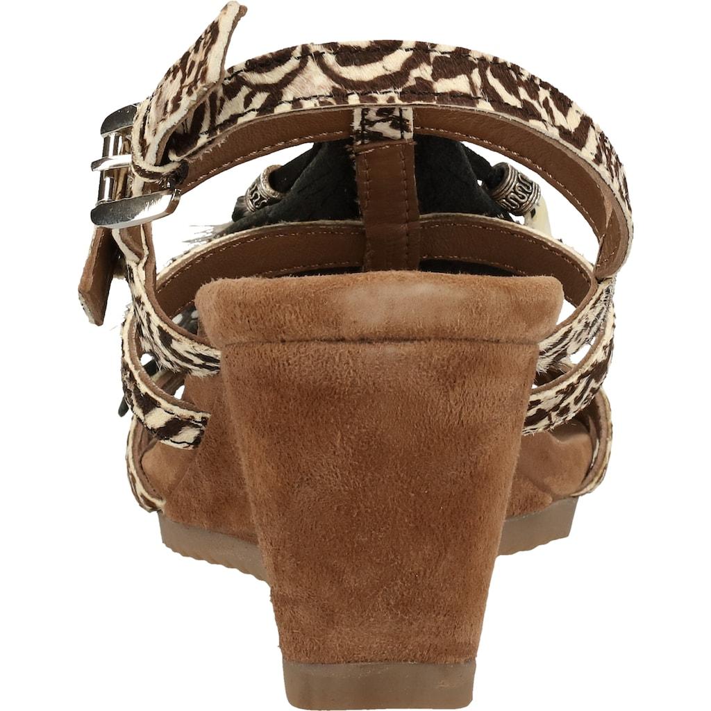 Lazamani Keilsandalette »Leder«