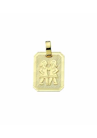 Adelia´s Kette mit Anhänger »333 Gold Sternzeichen Anhänger Zwilling - Set mit... kaufen