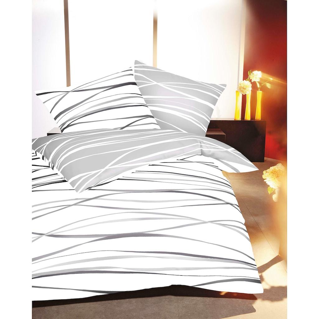 Kaeppel Wendebettwäsche »Motion«, mit feinen Wellenlinien