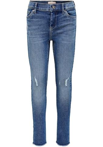 KIDS ONLY Stretch-Jeans »KONBLUSH«, mit dezenten Abriebeffekten kaufen