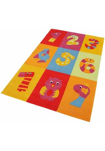 Kinderteppich, »Dhanbad«, THEKO, rechteckig, Höhe 15 mm, handgetuftet kaufen