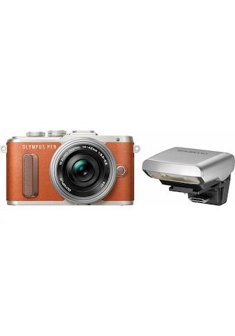 Olympus »E - PL8« Systemkamera (14 - 42mm EZ Pancake, 16,1 MP, WLAN (Wi - Fi)) kaufen