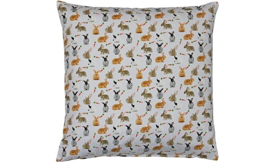 """Kissenhülle """"32657 Rabbits"""" HOSSNER  -  HOMECOLLECTION kaufen"""