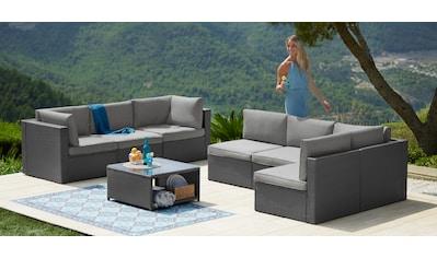 KONIFERA Loungeset »Malta«, 25 - tlg., Ecklounge, Sessel, Tisch 69x69 cm kaufen
