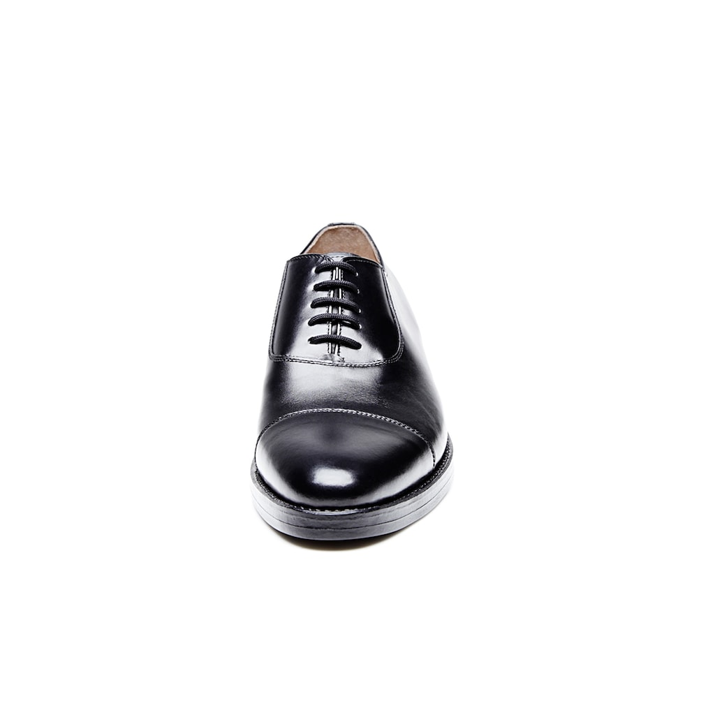Heinrich Dinkelacker Schnürschuh »Milano Captoe BC«, Wahre Schuhmacherkunst aus Budapest