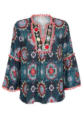 Alba Moda Tunikabluse mit verziertem Ausschnitt kaufen