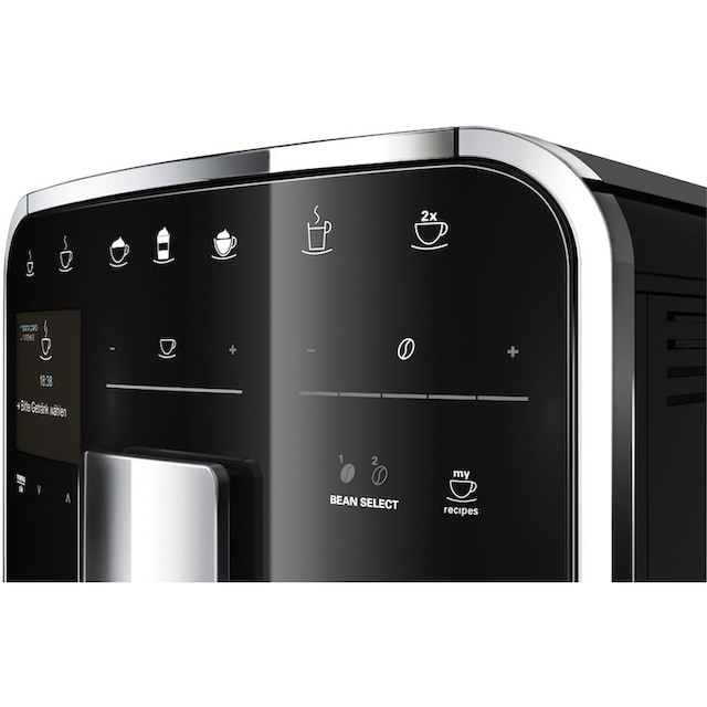 Melitta Kaffeevollautomat Melitta®CAFFEO Barista TS Smart® F85/0-102, schwarz, 1,8l Tank, Kegelmahlwerk