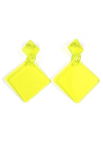 J.Jayz Paar Ohrstecker »in quadratischer Form, neon« kaufen