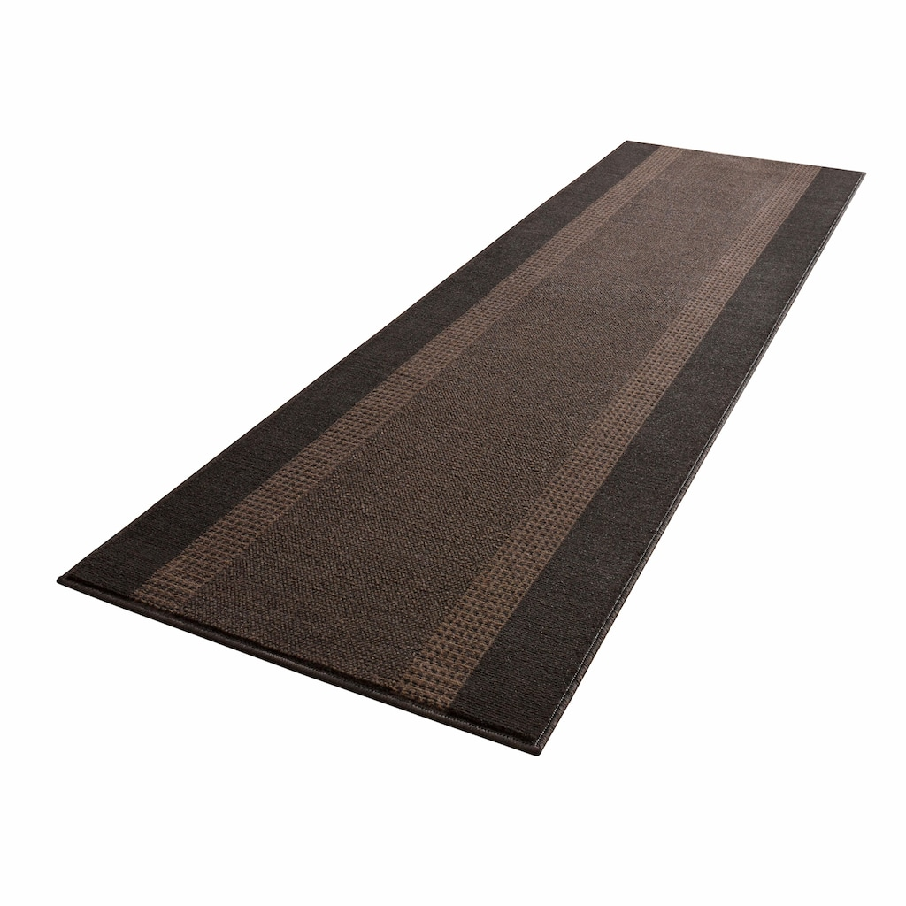 HANSE Home Läufer »Band«, rechteckig, 9 mm Höhe, Kurzflor