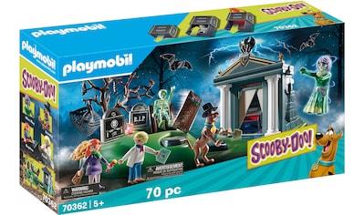 Playmobil® Konstruktions-Spielset »SCOOBY-DOO! Abenteuer auf dem Friedhof (70362), SCOOBY-DOO!«, ; Made in Germany kaufen