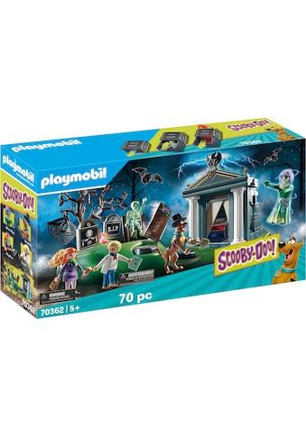 Playmobil® Konstruktions-Spielset »SCOOBY-DOO! Abenteuer auf dem Friedhof (70362),... kaufen